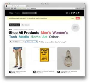 eBay rachète Svpply, un service de shopping
