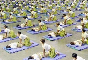 Le record du plus grand massage collectif est atteint en Thaïlande