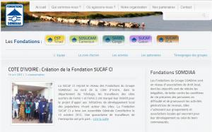 Somdiaa : SUCAF CI lance sa fondation