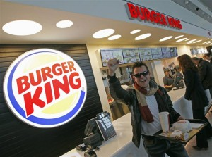 Burger King de retour à Paris Saint-Lazare