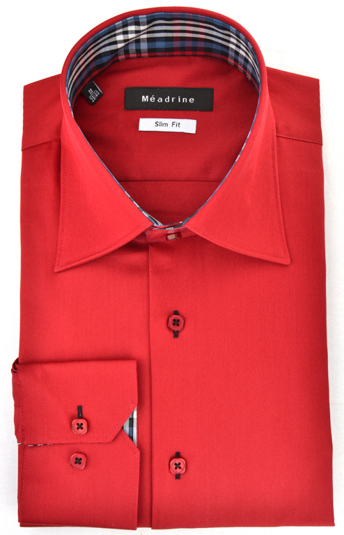 chemise-rouge-meadrine-opposition-carreaux