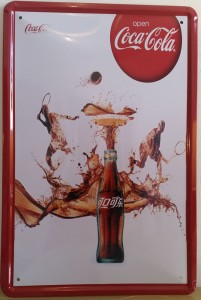 Plaque déco Coca Cola