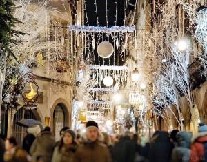 Illumination de Noël, les villes habillées pour l'hiver