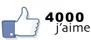 Facebook-4000 fans