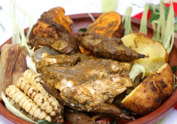 Le fameux pachamanca péruvien