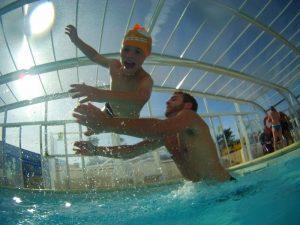 La piscine, incontournable en camping