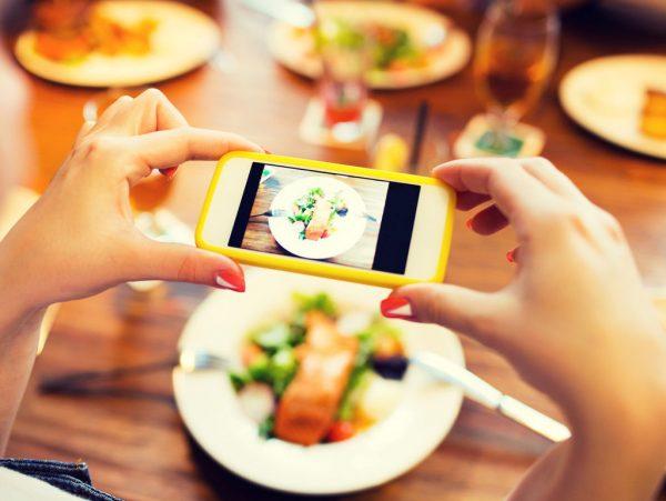 Une nouvelle pratique gastronomique, la photographie