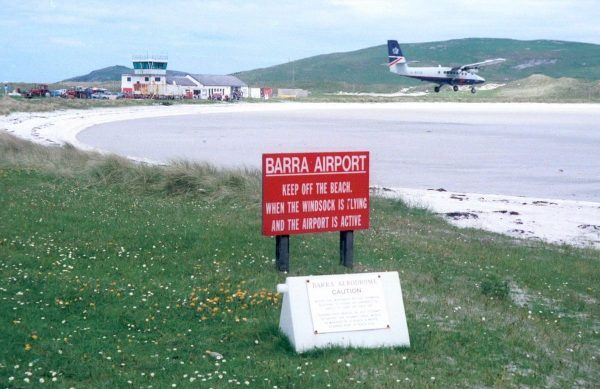 L'aéroport de Barra