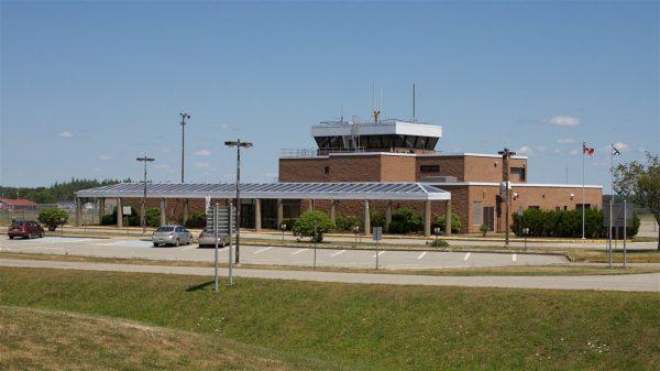 L'aéroport de Yarmouth