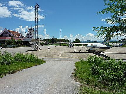 L'aéroport de Luang Prabang