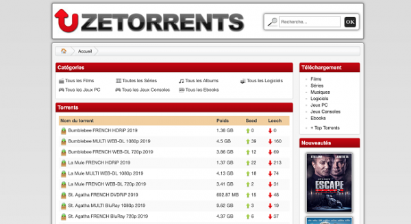 Est-ce que ZeTorrent est légal ou illégal?